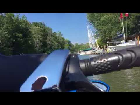 Seadoo down the Lynn River in Port Dover