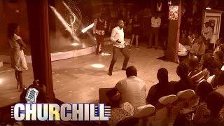 Churchill Show audience lingala Dance off