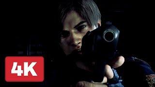 Resident Evil 2 Remake Announcement Trailer (4K) - E3 2018