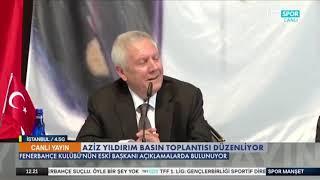 Aziz Yıldırım Basın Toplantısı İrfan Can Kahveci 11 Milyon Euro.. Ali Koç Kaçaca