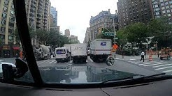 Driving NYC in a Semi