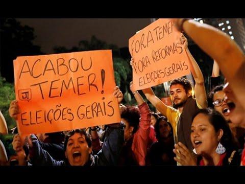 Brazil's President Michel Temer denies hush money claim