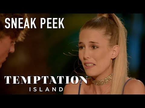 Temptation Island's Kaci Finally Confronts Boyfriend Evan After He Was 'in Bed with Another Girl'