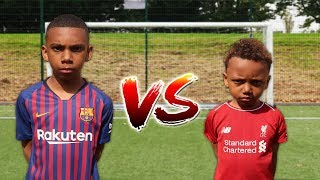 MESSI vs MOHAMED SALAH FOOTBALL CHALLENGE!!