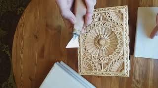 Урок геометрической резьбы для начинающих часть 1