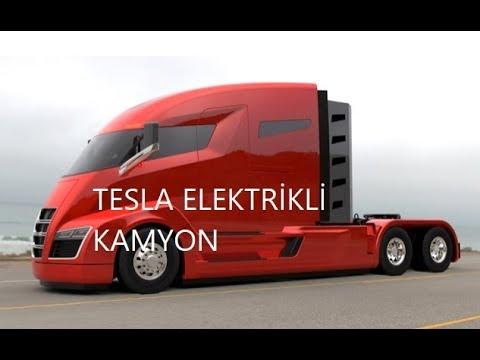 Teslanın yeni Elektrikli Kamyonu - Tek Şarjla 400 500 km