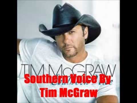 Southern Voice By Tim McGraw *Lyrics in description*