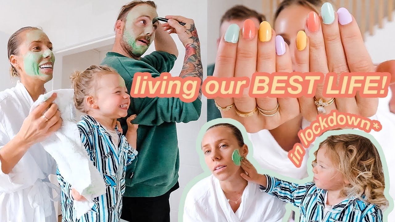 we decided enough was enough! Time to live our BEST LIFE VLOG! *lockdown*