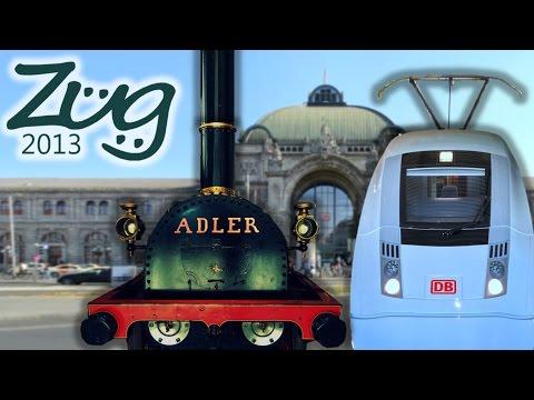 Zug2013: Nürnberg Hbf Doku - Teil 1 (mit U-Bahn, Rangierbahnhof, DB Museum u.v.m.)