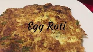 Egg Roti | Sindhu's Kitchen Recipes | Roti Omelette | Breakfast Recipes | Tasty Breakfast | Parotta