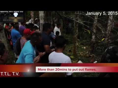 BREAKING NEWS!!HELICOPTER CRASH IN NANPOHNMAL,POHNPEI _FULL COVERAGE_