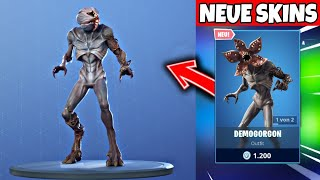 FORTNITE DAILY ITEM SHOP 5.7.19 | STRANGER THINGS SKINS SIND DA!!