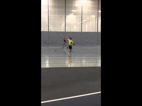 Fielding slow rollers