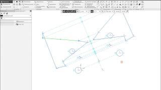 Компас 3D v17.1  Симметрия примитивной геометрии.