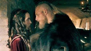 Викинги 5x12 - Бьерн спит с принцессой Эльсвитой