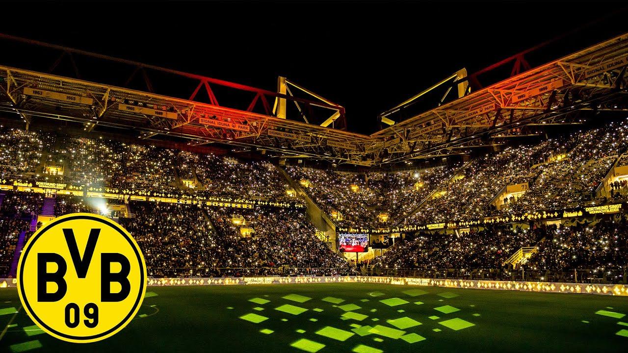 Wieder Rekordkulisse in Dortmund | 70.000 BVB-Fans singen Weihnachtslieder!