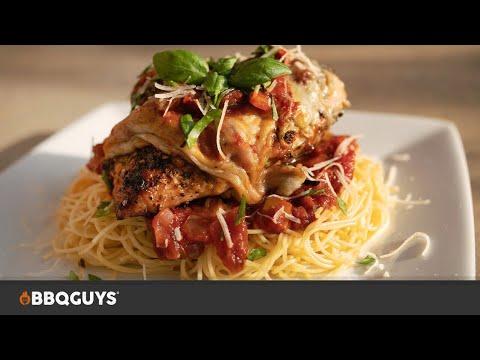 grilled-chicken-parmesan-recipe-on-the-primo-kamado-|-bbqguys