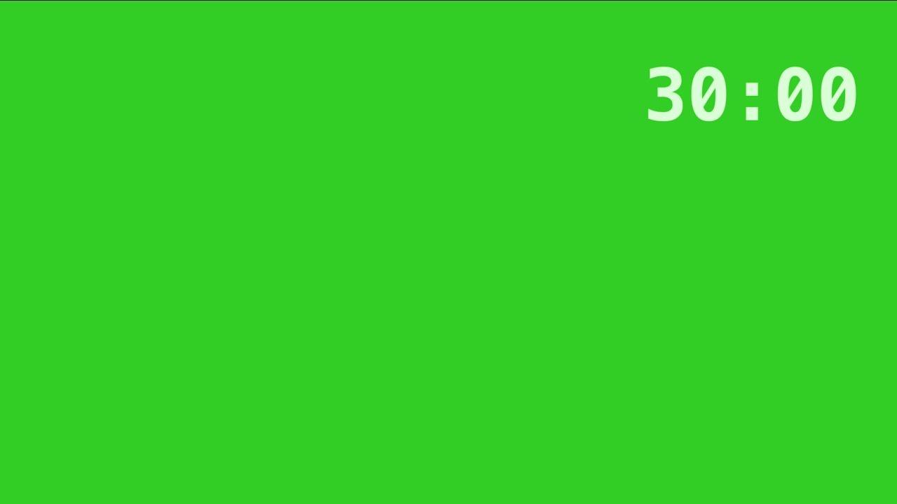 Temporizador De 30 Minutos