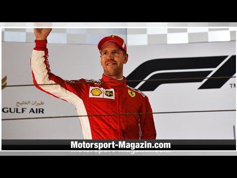 Sebastian Vettel mit DHL Fastest Pit Stop in Bahrain