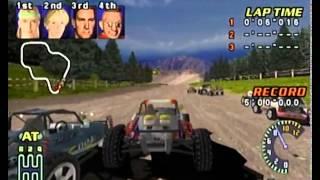 TNN Motorsports Hardcore Heat Dreamcast Gameplay