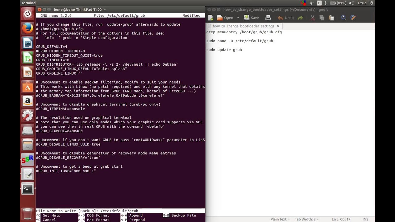 How to change default bootloader to Windows 7 (dualboot Windows 7 and  Ubuntu 14 04)