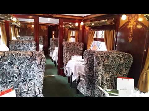 Board the vintage carriages of Belmond British Pullman