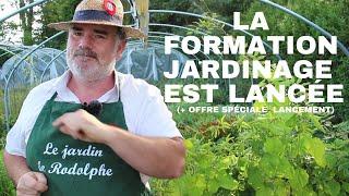 LA FORMATION JARDINAGE EST LANCÉE (+ Offre spéciale lancement)