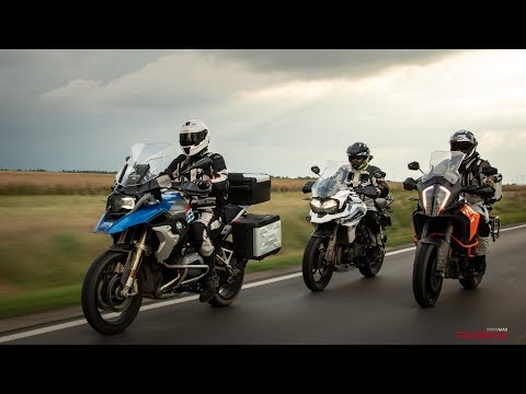 R1200GS vs. KTM 1290 Super Adventure vs. Triumph Tiger 1200 | 2018 Comparison Review