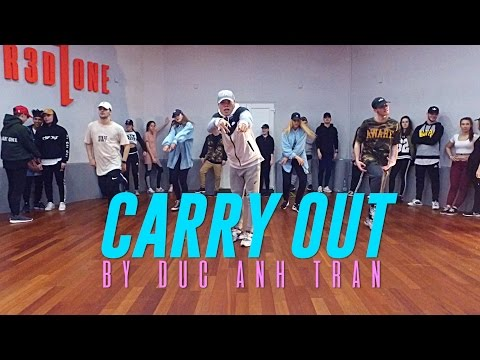 """Timbaland ft. Justin Timberlake """"CARRY OUT"""" Choreography by Duc Anh Tran"""