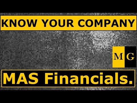 MAS Financial Services Ltd  | Know your Company by Markets Guruji