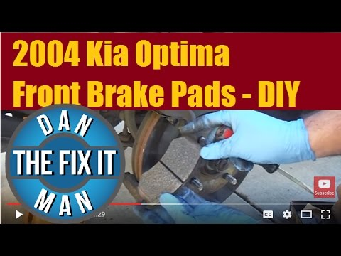 2004 Kia Optima Front Brake Pad Replacement – DIY