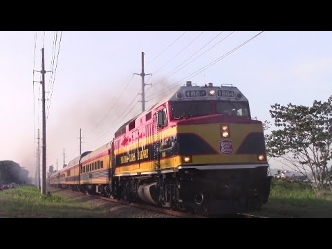 Panama Canal Railway Passenger Train at Corozal - Panama City (April 25, 2017)