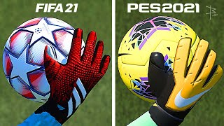 FIFA 21 or PES 21 - Graphics Comparison