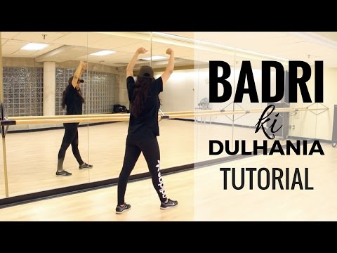Badri Ki Dulhania Dance Tutorial - Learn Bollywood Choreography with Shereen Ladha