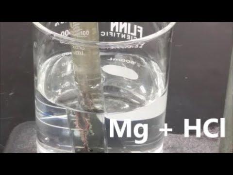 Molar Volume Of Hydrogen Gas - Mg + HCl