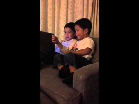 Santa Barbara hotel iPad minions game