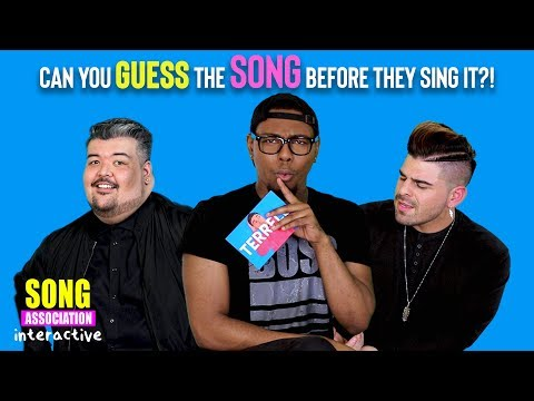 Can You Guess What Songs Matt Bloyd & Mario Jose Are Going To Sing?! | SONG ASSOCIATION INTERACTIVE!