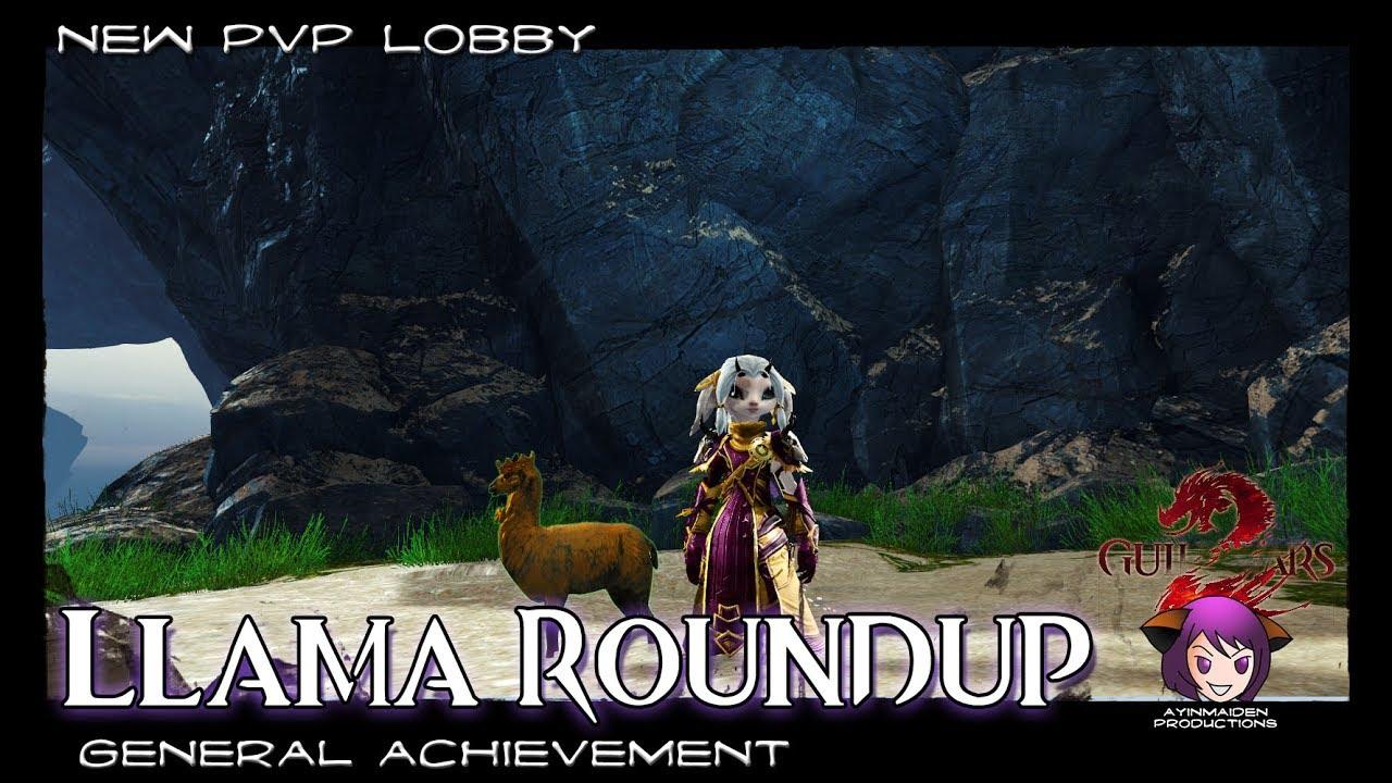 Guild Wars 2 Llama Roundup Achievement Mini Jumping Puzzle