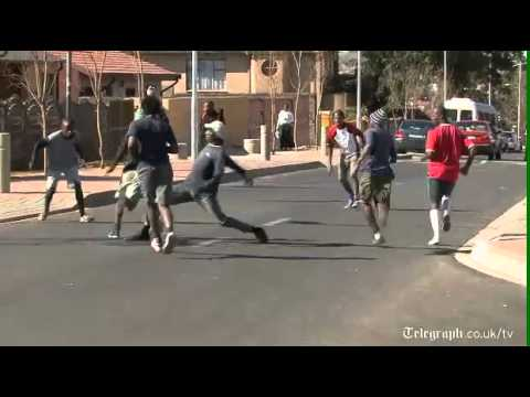 High Skills In Soweto's Street Soccer
