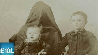 10 CREEPY Covered Mother Photos [Victorian Era Photos]