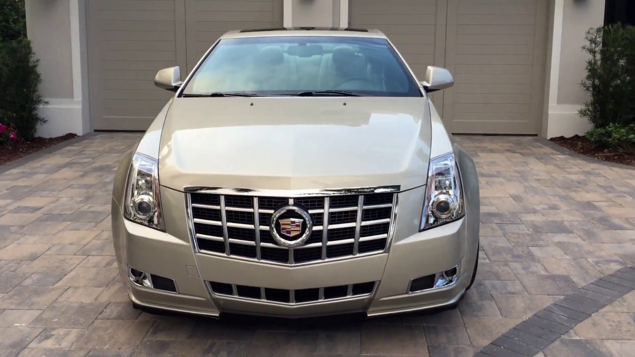 2013 cadillac cts performace coupe for sale by auto europa naples youtube. Black Bedroom Furniture Sets. Home Design Ideas