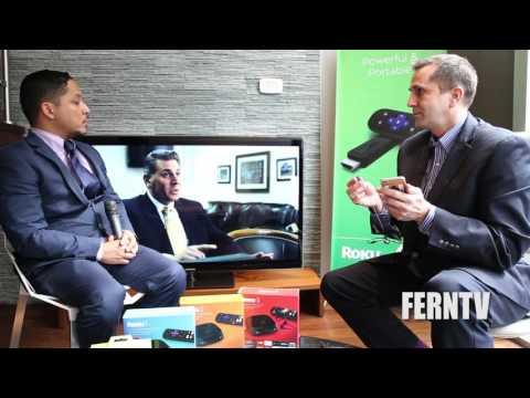 FERNTV interview with Lloyd Klarke of Roku