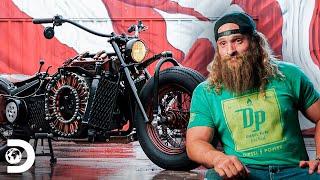 Ruda moto diesel armada desde cero | Diesel Dave | Discovery Latinoamérica