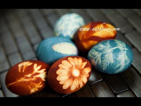 Dye Easter Eggs With Natural Ingredients Recipe