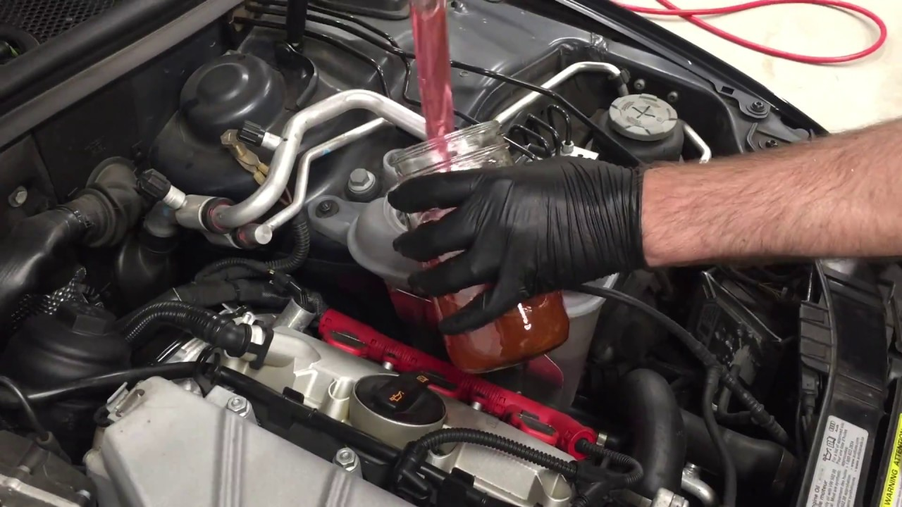 audi    thermostat replacement youtube