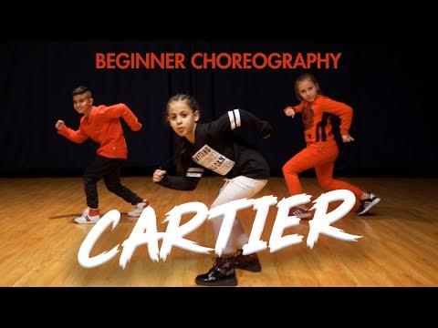 Dopebwoy - Cartier ft. Chivv & 3robi (Dance Video) Easy Kids Choreography | MihranTV