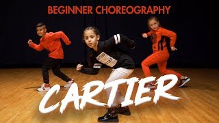 Dopebwoy - Cartier ft. Chivv & 3robi (Dance Video) Easy Kids Choreography | MihranTV