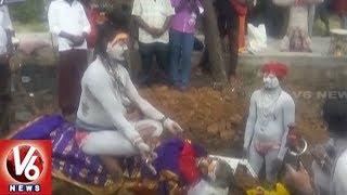 Aghori Performs Tantrik Pooja By Sitting On His Mother Body   Tamil Nadu   V6 News