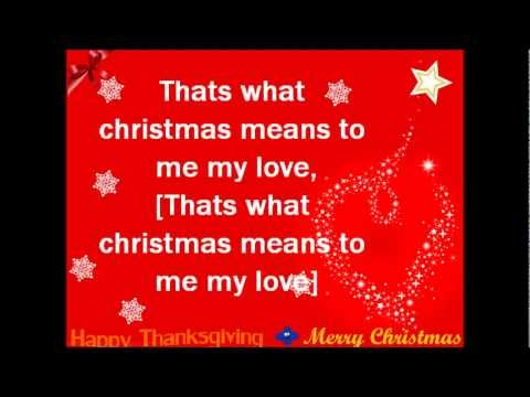 Jennette McCurdy That's What Christmas Means To Me Lyrics //Macy ...