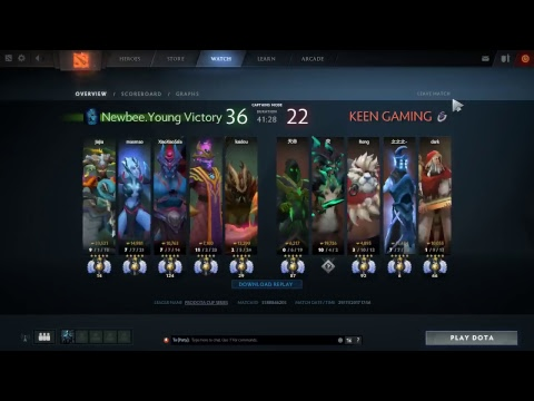 [DOTA 2 Live] ProDotA Cup China #2 Keen Gaming VS Newbee.Young